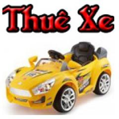 Dịch vụ cho thuê xe ô tô điện trẻ em