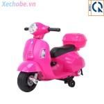 Xe máy điện Vespa cho bé Q518