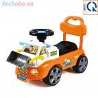 Xe chòi 4 bánh kiểu xe ủi QX-3355