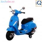 Xe máy điện trẻ em Vespa Q618