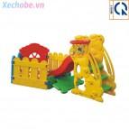 Cầu trượt nhà banh cho bé YGC-3504