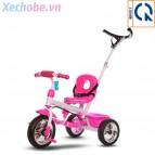 Xe đạp ba bánh cho bé Broller XD3-200 có cây đẩy